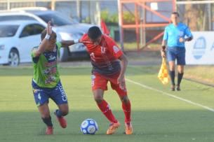Santa Tecla y la UES empataron a cero goles en el estadio Las Delicias. Foto Diario Co Latino/Primera División