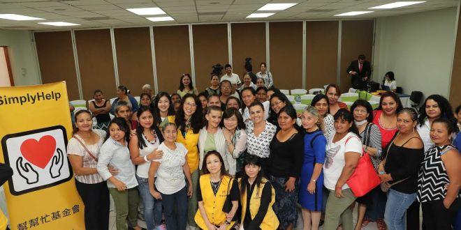 Fundación Simply Help entrega lotes de tela a Secretaría de Inclusión Social