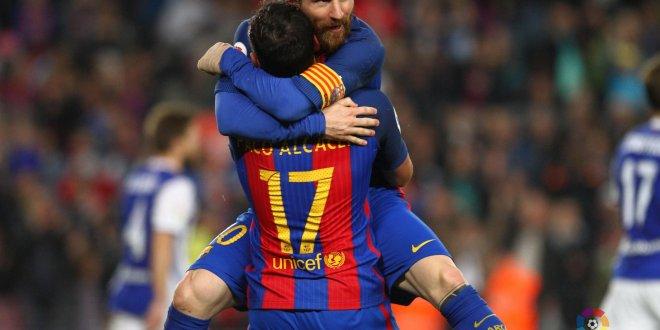 Barcelona recupera crédito con sufrida victoria sobre la Real