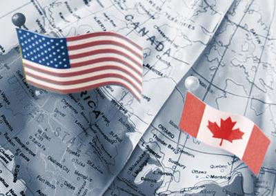 Estados Unidos en guerra comercial con Canadá