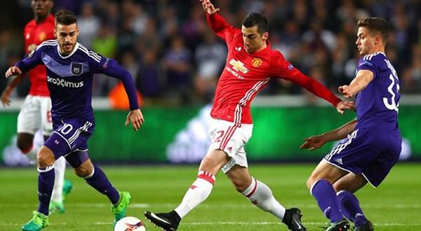 Manchester United rescata valioso empate ante el Anderlecht