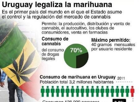 Uruguay comenzará a vender marihuana en farmacias en julio
