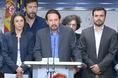 Izquierda española oficializa moción de censura contra Rajoy