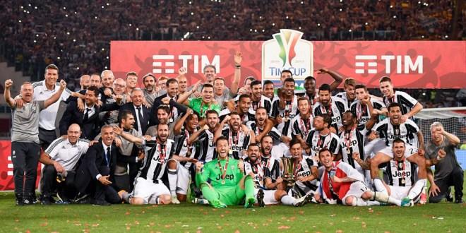 La Juventus gana la Copa Italia y está más cerca del triplete