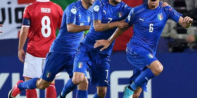 Italia y Alemania se estrenan  con triunfos en europeo Sub 21