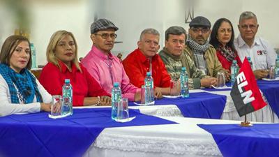 Cese al fuego centra tercer ciclo de diálogos Gobierno colombiano-ELN