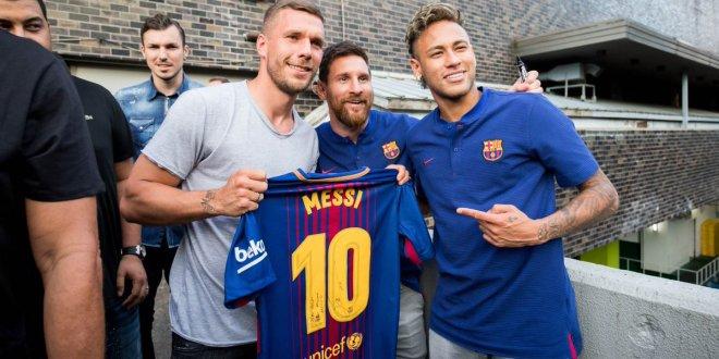 Messi vuelve al trabajo con el Barça antes de hora