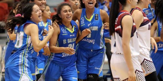 Salvadoreñas clasifican  al Campeonato FIBA Sub-18