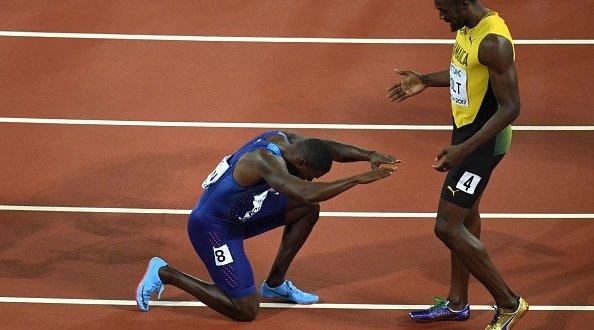 Gatlin despide a Bolt derrotándolo en los 100 metros