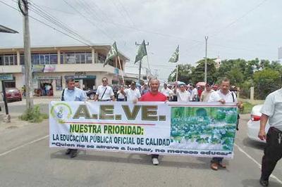 Huelga nacional de educadores en Panamá