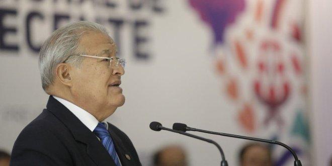 Presidente Sánchez Cerén felicita a la PNC por exitoso operativo