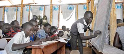 ACNUR pone en relieve la magnitud de la crisis en la educación de los niños refugiados