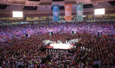 El independentismo catalán saca músculo institucional