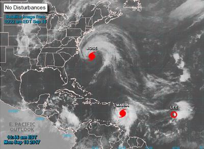 Tras Irma, el Caribe se prepara para la llegada del fortalecido huracán María