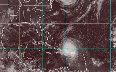 María deja a Puerto Rico como zona de desastre y avanza hacia Dominicana
