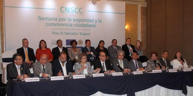 CNSCC prepara Semana por  la Seguridad y Convivencia