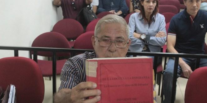 General Rafael Bustillo es  intimado por masacre del Mozote