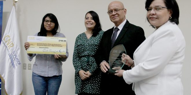 CNR premia a estudiantes ganadores del concurso Ingenio 2017