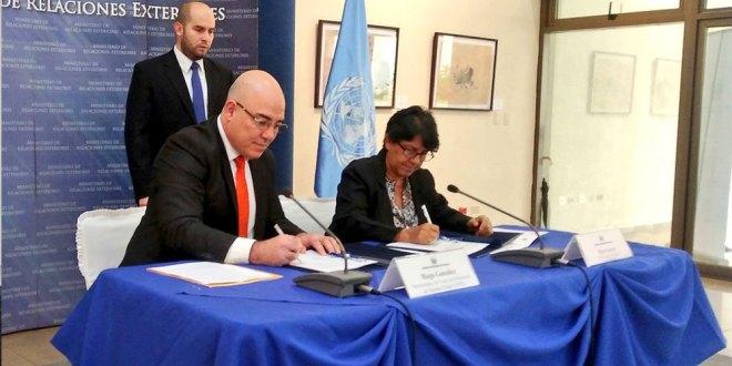 GOES y UNFPA unen esfuerzos  en pro de los derechos de las mujeres