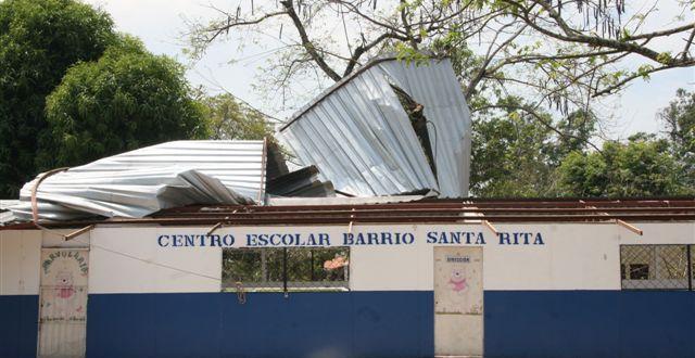 MINED pide $100 mil para reparar escuelas dañadas por Selma