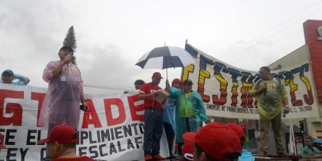 Trabajadores conmemoran Día de la Persona Sindicalista