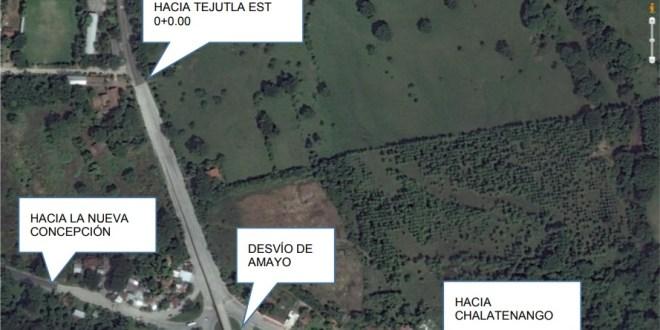 MOP trabaja en 6.6 kilómetros de carretera Amayo-Tejutla