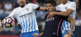 Barcelona quiere reafirmarse en la cima ante el colista Málaga