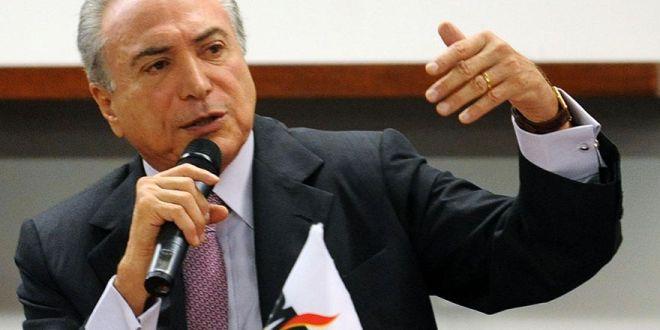 Diputados brasileños evalúan denuncia contra Temer