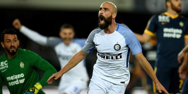 Inter escala al segundo lugar de la Serie A