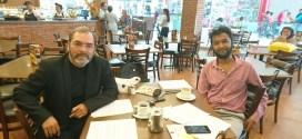 Akshay Kale entrevista a César Ramírez Caralvá investigación literaria Roque Dalton y Narayan Surve