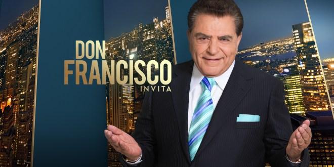 Don Fracisco  te invita cambia de horario