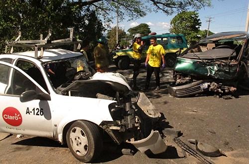 PNC reporta más de mil fallecidos en accidentes de tránsito
