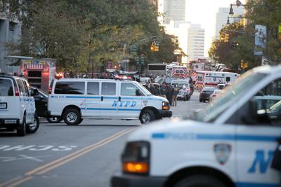 """Ocho muertos en """"acto terrorista"""" en Nueva York, incluidos 5 argentinos"""