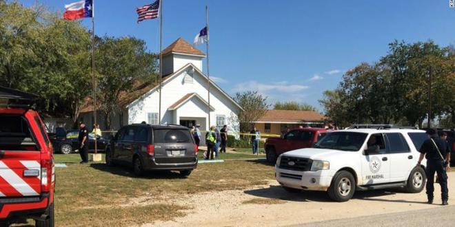 Un tiroteo causa 26 muertes en iglesia de Texas