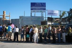 Miles de personas acuden a votar. Foto Diario Co Latino/ Wendy Urbina
