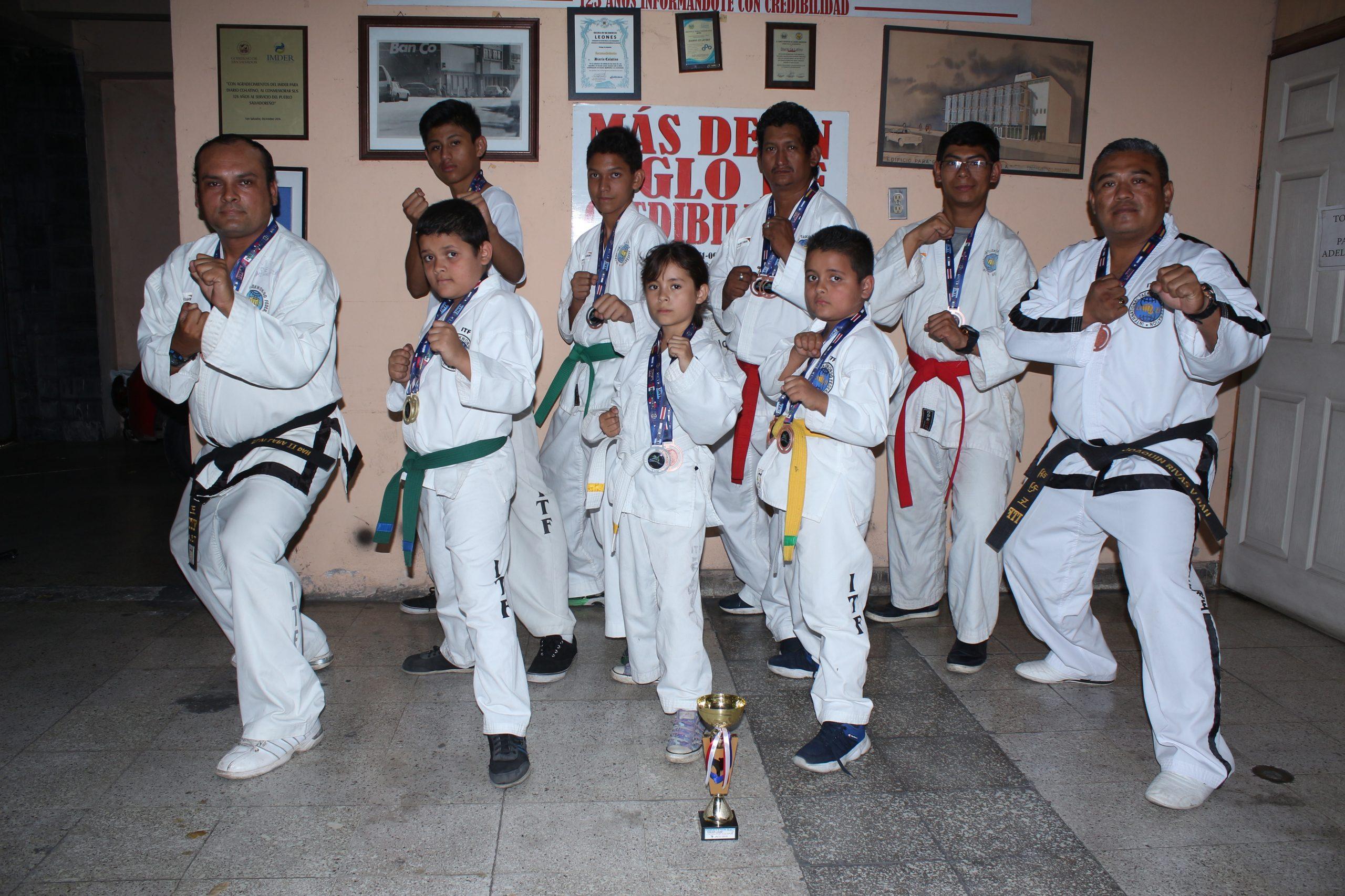 las mejores peleas de taekwondo itf