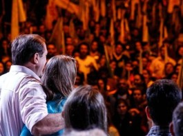 Sucessão municipal: novo comício do PMDB arrasta uma multidão para o bairro Nova Esperança