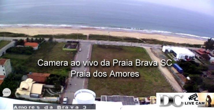 Camera ao vivo Praia Brava Itajai Balneario Camboriu