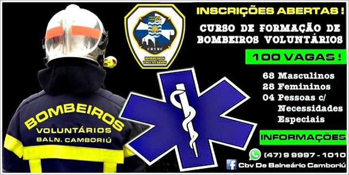 Curso de Formação de Bombeiros Voluntários de Balneário Camboriú