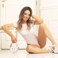 """Com a popularização de """"Musas Fitness"""", Priscila Santtana afirma que ser atleta é um grande diferencial"""