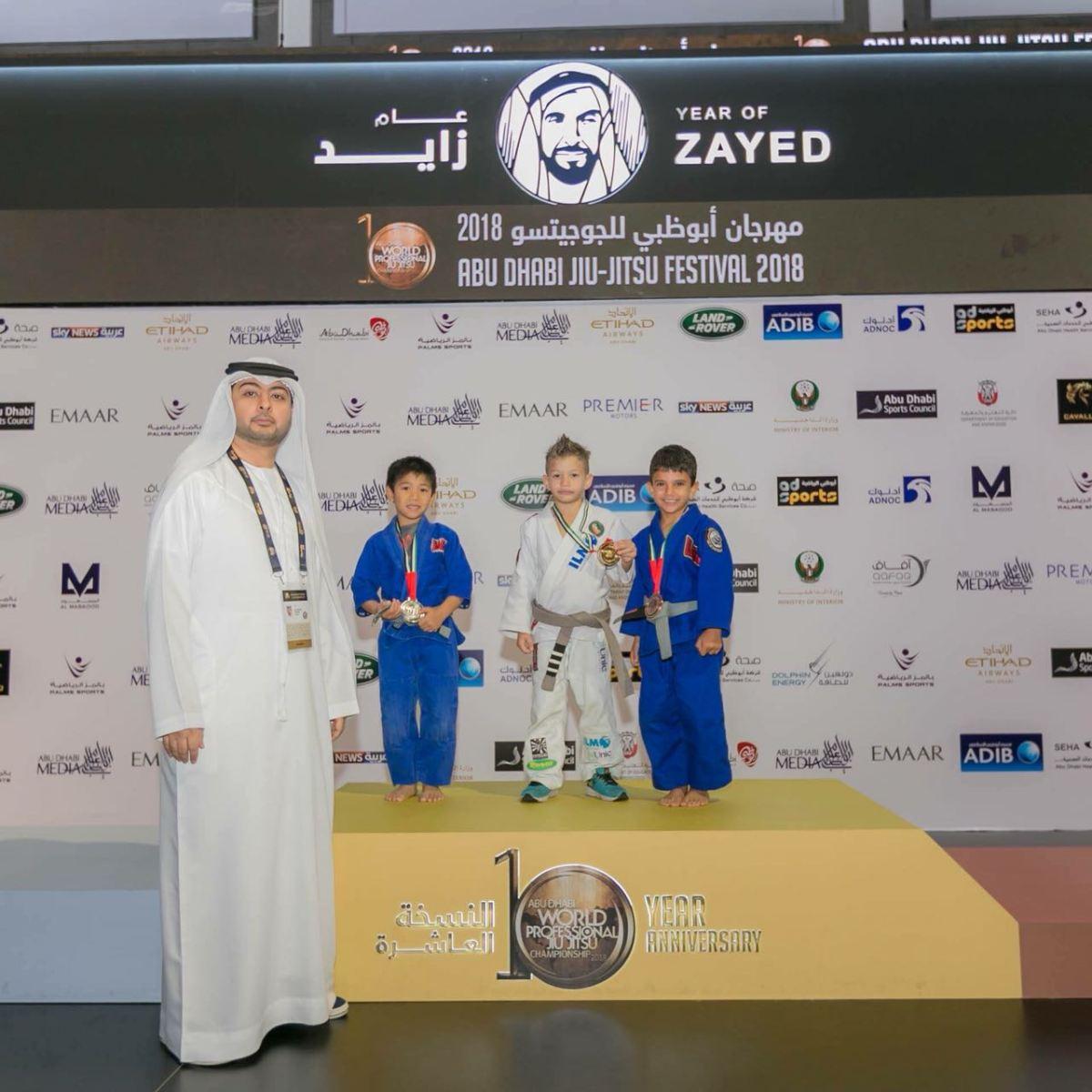 Felipe Cobrinha conquista primeiro lugar no Mundial de Jiu Jitsu em Abu Dhabi