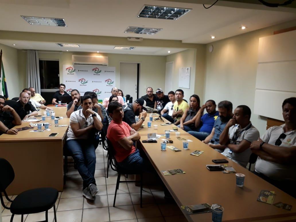 AmpeBr recebe comitiva de empresários cervejeiros da Bahia