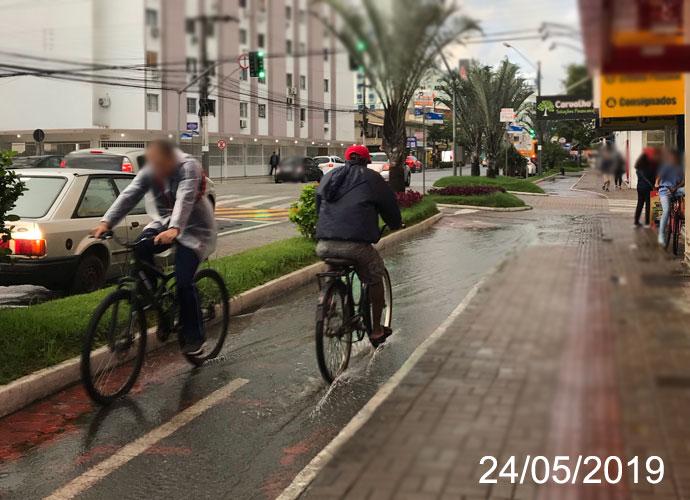 Usuários cobram melhorias em ciclovias de Balneário Camboriú