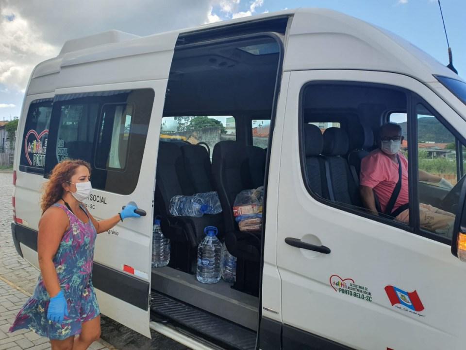 Porto Belo realiza cadastro para distribuição de cestas básicas
