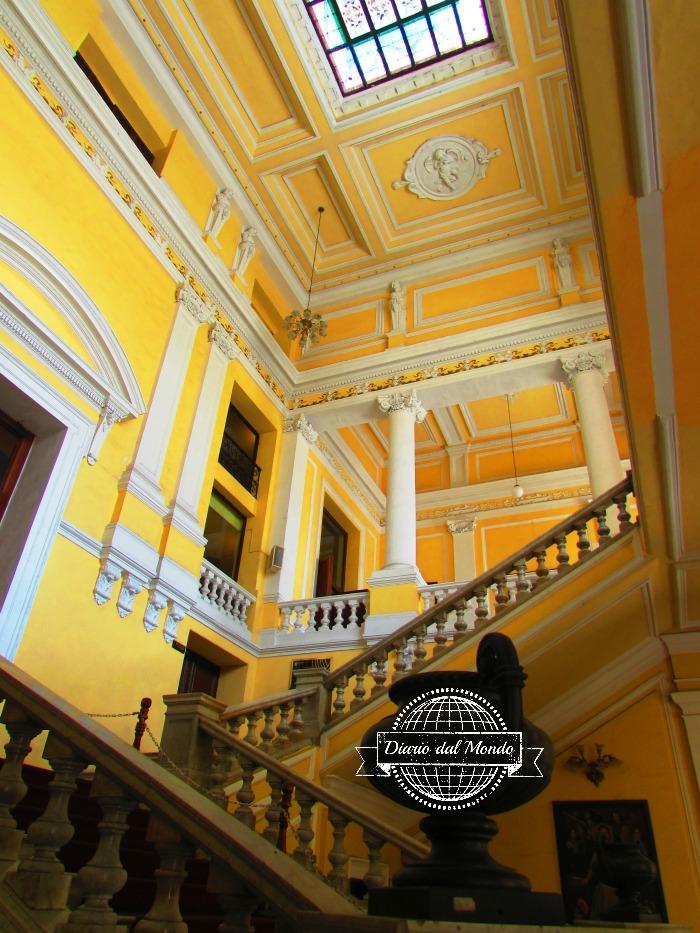 interno del Teatro Contreras di Merida
