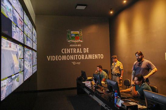 Prefeitura inicia instalação de câmeras nos novos pontos de videomonitoramento