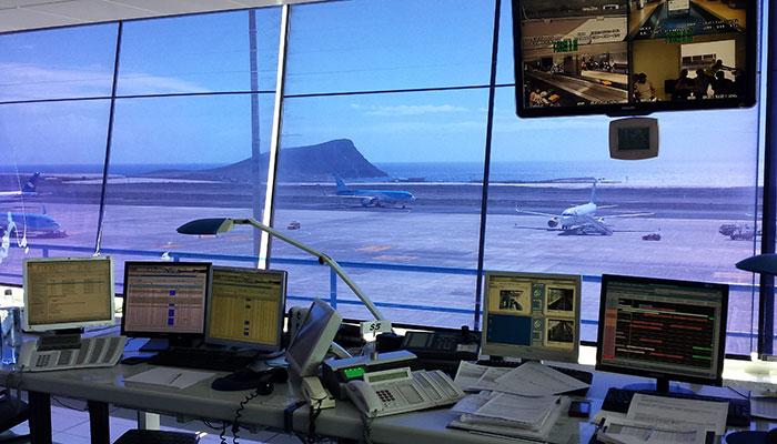 Centro de Operaciones y Coordinación del aeropuerto Tenerife Sur