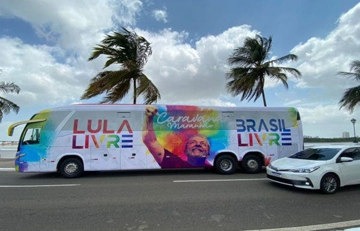 Caravana Lula Livre Brasil Livre irá percorrer o Maranhão.