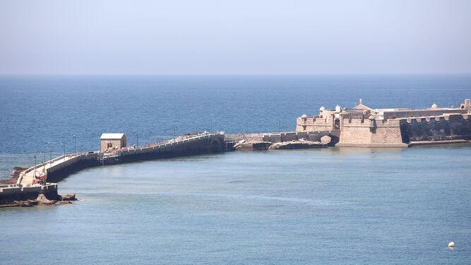 Cádiz oculto Los lamentos del Castillo de San Sebastián