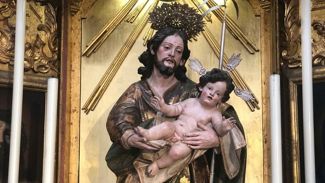 El San José de la parroquia de extramuros
